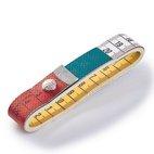 Maßband Color Plus mit Knopf, 150cm/cm