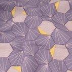 Canvas Oktagon - lila/ gelb
