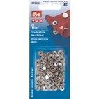 Nähfrei-Nachfüllpackung für 390360, 8mm, silberfarbig