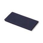 Flickstoff Köper, aufbügelbar, 12 x 45cm, blau