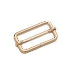 Leiterschnalle, 30mm, new gold