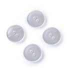 Kittel-und Schlafanzugknöpfe, 17mm, perlmutt