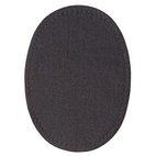 Patches aufbügelbar, 10 x 14cm, schwarz