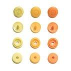 Druckknopf 'Color Snaps' Mini Annähoptik, Prym Love, gelb