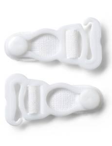 Strumpfhalter-Hänger, 15mm, hautfarben