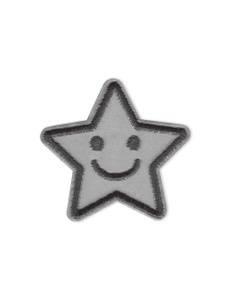 Applikation Reflex Stern selbstklebend und aufbügelbar