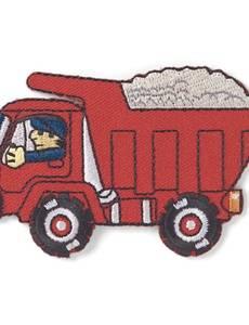 Applikation Lastwagen rot