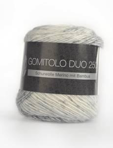 GOMITOLO DUO 250, 905 pastell-/ zitrusgelb/gelb/hell-/dunkelgrau