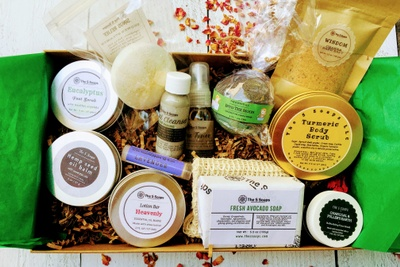 The S Soaps Handmade Skincare Variety Box (Self Care, Spa, Beauty) Photo 3