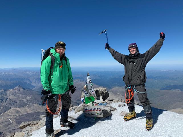 Grid Dynamics team members on Elbrus