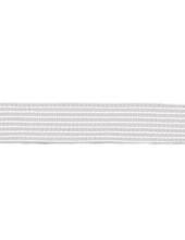 Kräusel-Elastic, 25mm, weiß, 2m