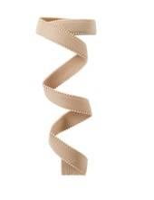 Elastic-Trägerband, 15mm, hautfarben, 80cm