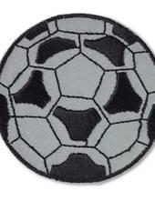 Applikation Fußball, selbstklebend und aufbügelbar