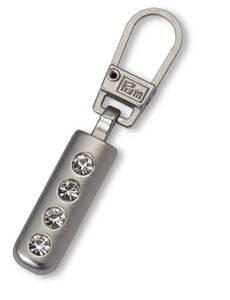 Fashion-Zipper Strass