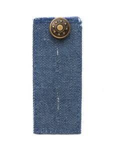 Bunderweiterung Knopf, jeans, 80 x 35mm