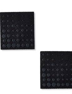 Applikation Labels, schwarz/grau