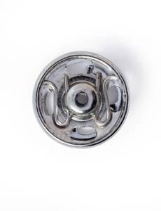 Annäh-Druckknöpfe, 11mm, silberfarbig