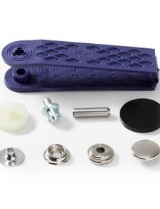 Nähfrei-Nachfüllpackung für 390201, 15mm, silberfarbig