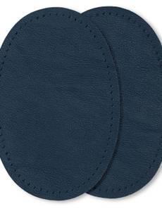 Patches Nappaleder-Imitat zum Aufnähen, 9 x 13,5cm, dunkelblau