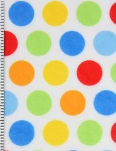 Plüsch 1,5 mm SHORTY 1 print hula dots r