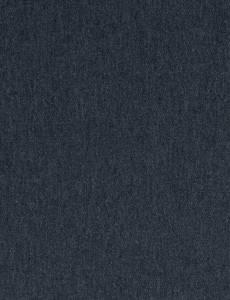Sweatstoff Melange Uni, dunkelblau