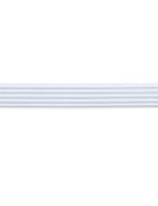 Elastic-Bund, non slip, 25mm, weiß, 10m