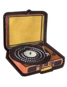 Appl. Retro Plattenspieler schw/bunt