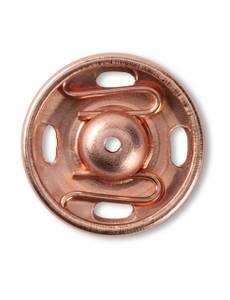 Annäh-Druckknöpfe, 15mm, roségold