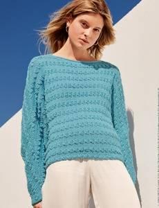 Romantischer Pullover