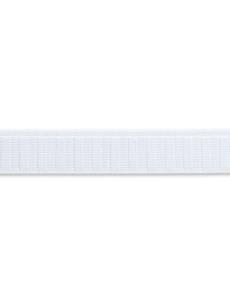 Elastic-Band, querstabil, 25mm, weiß, 10m