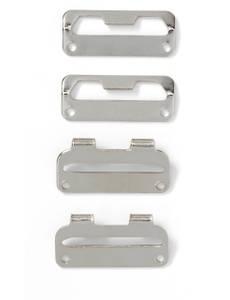 Rockbundverschlüsse, 25mm, schwarz