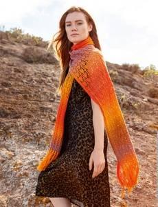 Sommerlicher XL-Schal Aloha