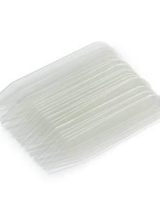 Kragenstäbchen, 10 x 55mm, transparent