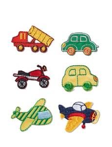Applikation Fahrzeuge, selbstklebend und aufbügelbar