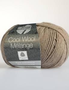 COOL WOOL MELANGE, 115 graubraun meliert