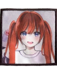 Appl. K-Pop Label Mädchen rote Haare