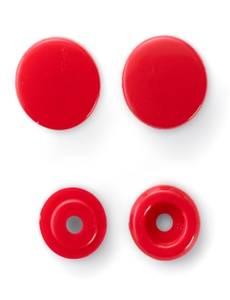 """Nähfrei-Druckknöpfe """"Color Snaps"""", rund, 12,4mm, rot"""