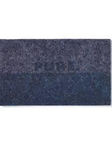 Applikation Jeanslabel, dunkelblau, Rechteck Pure Classic