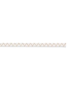 Flach-Elastic 6mm, weiß