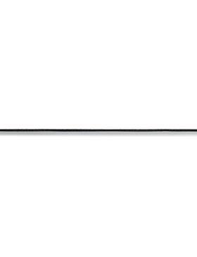 Elastic-Kordel, 1,5mm, schwarz, 3m