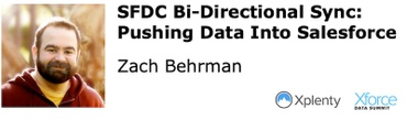 SFDC Bi-Directional Sync: Pushing Data Into Salesforce