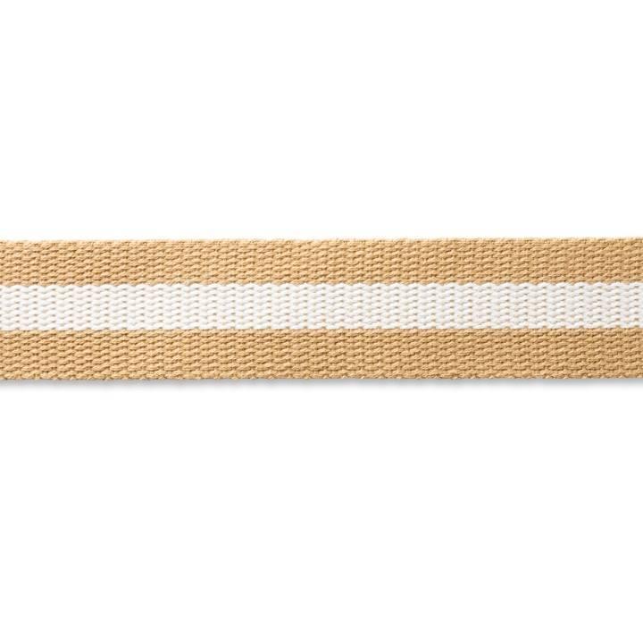 weiß 965202 Prym 3 m Gurtband für Taschen  40mm beige