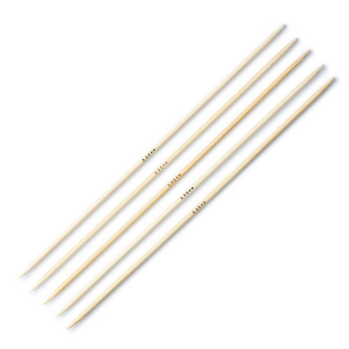 Strumpfstricknadeln, Bambus