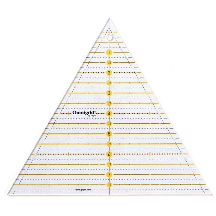 Patchwork-Lineal 60° Dreieck Multi 8 inch