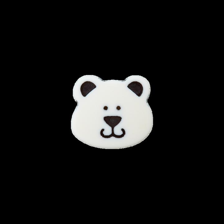 Polyesterknopf Öse Bär