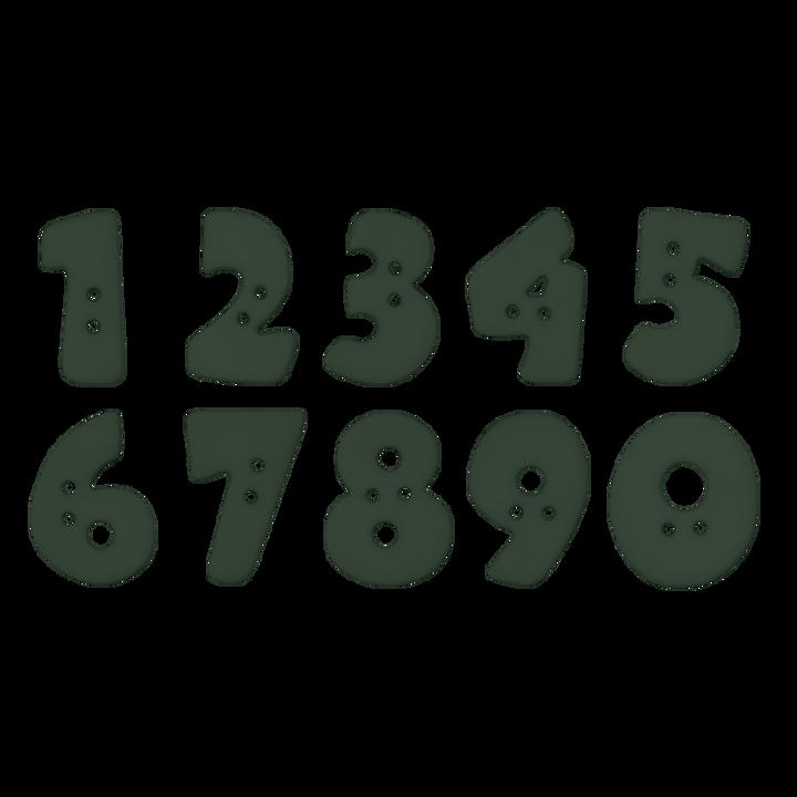 Zahlenknopf