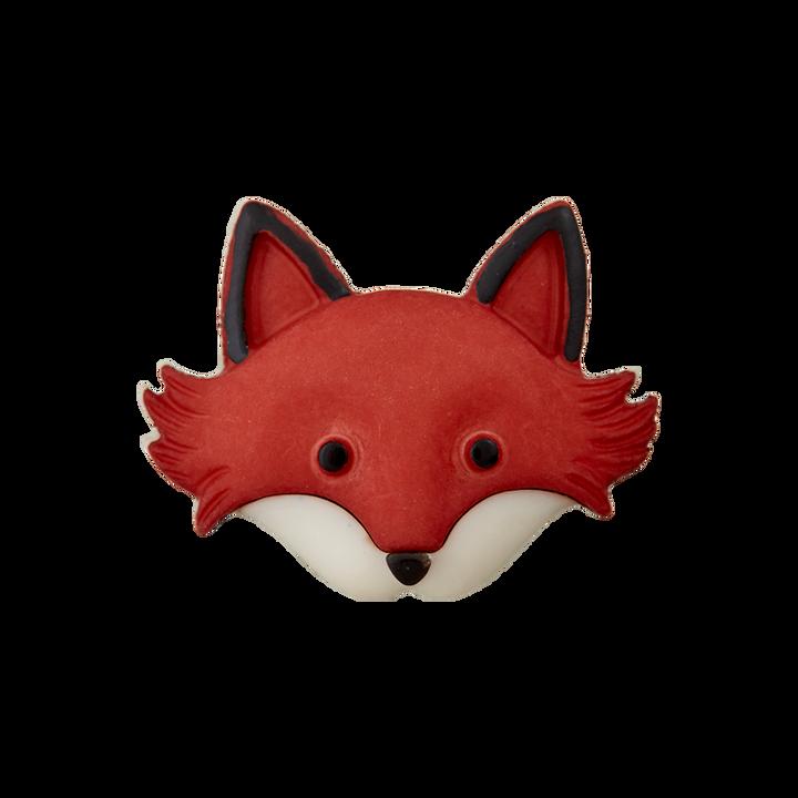Polyesterknopf Öse Fuchs