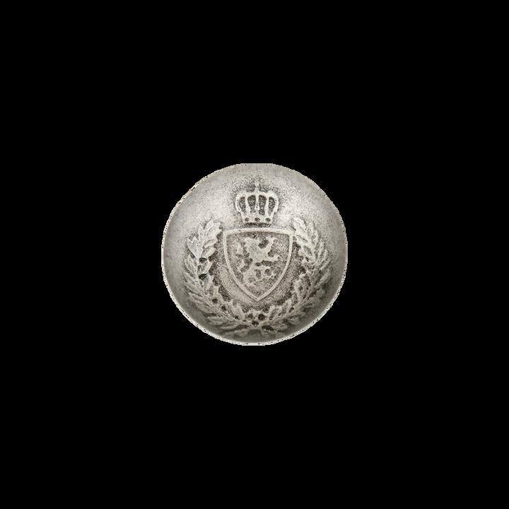 Metallknopf Wappen mit Öse