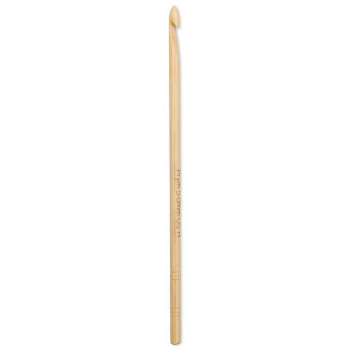 Wollhäkelnadel Prym 1530, Bambus, 15cm, 5,00mm