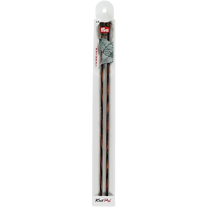 Jackenstricknadeln, Natural, 35cm, 4,50mm